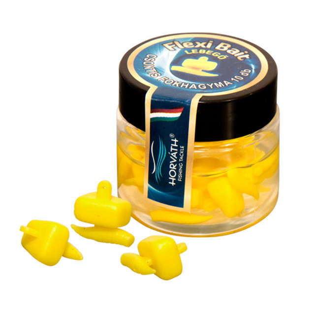 Porumb artificial Horvath Flexi-Bait Maggots (Aroma: Vanilie) Carp Expert Oferta pescar-expert
