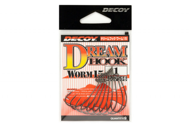 Carlige Offset Decoy Worm 15 Dream Hook (Marime Carlige: Nr. 2/0) Decoy Oferta pescar-expert