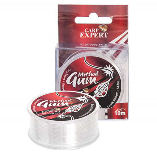 Elastic Carp Expert Method Gum, transparent, 10m