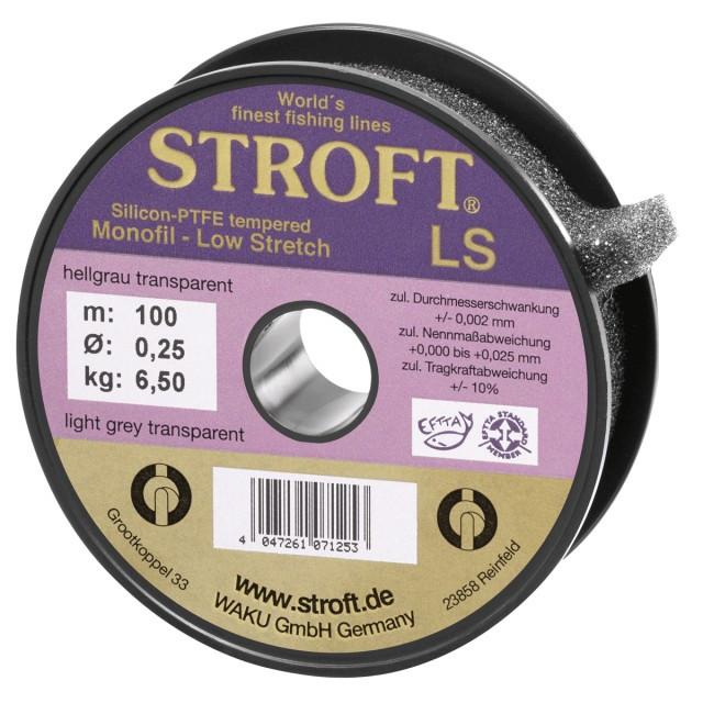 Fir gri transparent LS 100m Stroft (Diametru fir: 0.15 mm) Stroft Oferta pescar-expert
