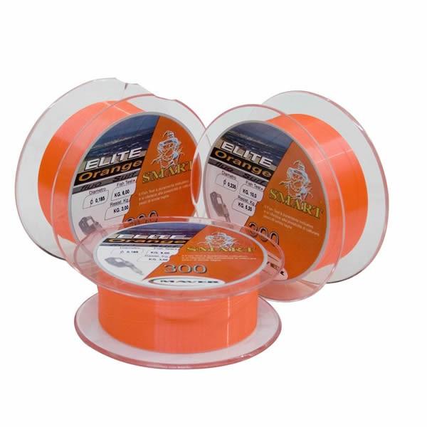 Fir monofilament Elite Surf Orange 300m Maver (Diametru fir: 0.27 mm, Culoare fir: fluo) Maver Oferta pescar-expert