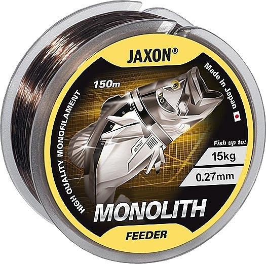 Fir monofilament Monolith feeder 150m Jaxon (Diametru fir: 0.27 mm) Jaxon Oferta pescar-expert
