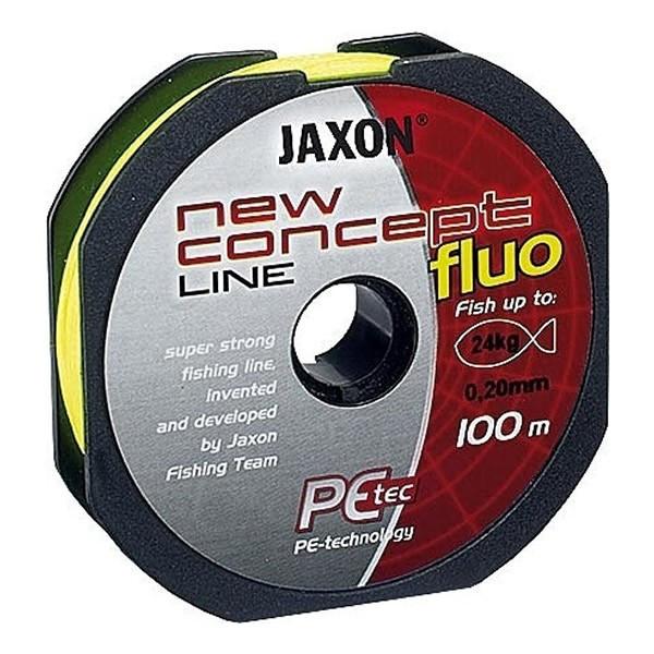 Fir textil Concept Line 100m galben fluo Jaxon (Diametru fir: 0.25 mm) Jaxon Oferta pescar-expert