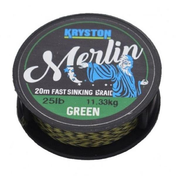 Fir textil Fast Sinking Supple verde 20m Kryston (Rezistenta: 15 lbs) Kryston Oferta pescar-expert