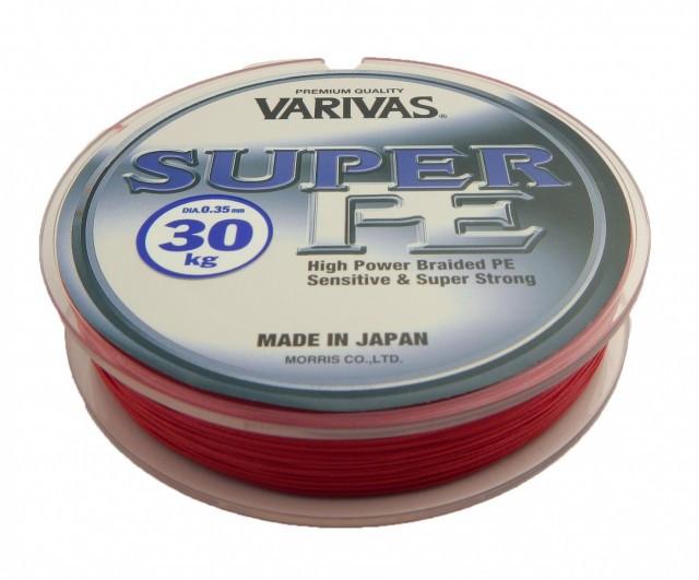 Fir textil Super PE Tournament Flash Red 135m Varivas (Diametru fir: 0.23 mm) Varivas Oferta pescar-expert