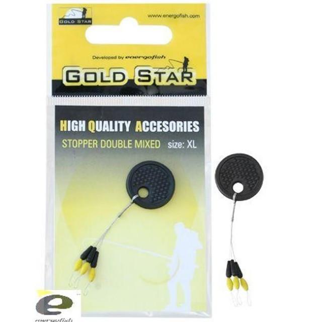 Opritor Dublu GS negru / galben Gold Star (Marime: L) Gold Star Oferta pescar-expert