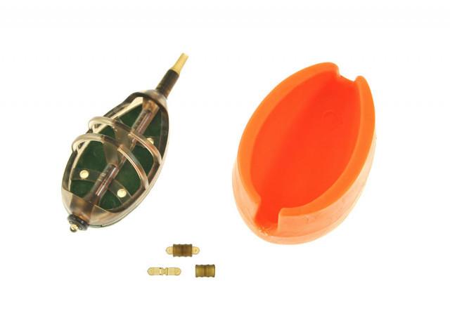 Set Momitor Method Feeder Jaxon ER2 cu Matrita si 5 Conectori (Greutate plumb: 30g) Jaxon Oferta pescar-expert