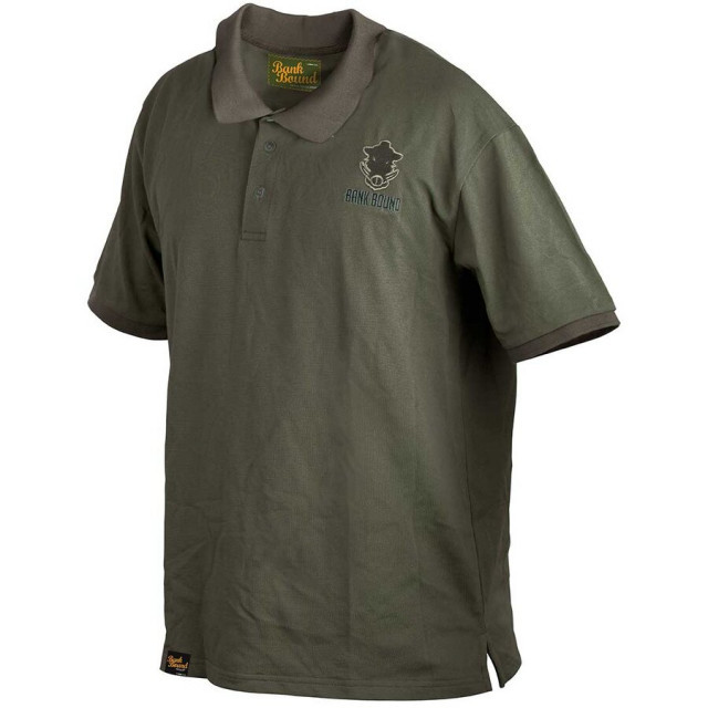 Tricou polo Prologic Bank Bound, verde