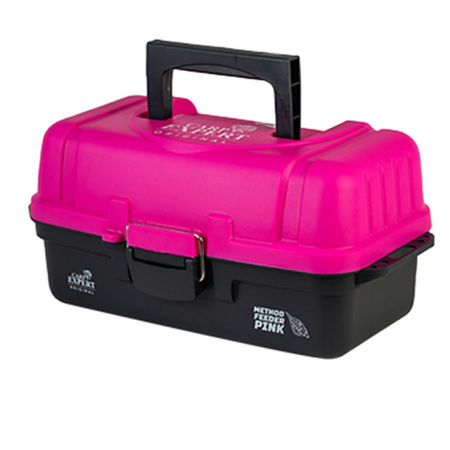 Valigheta monturi Pink 6250 Carp Expert, 38x18x17 cm Carp Expert Oferta pescar-expert