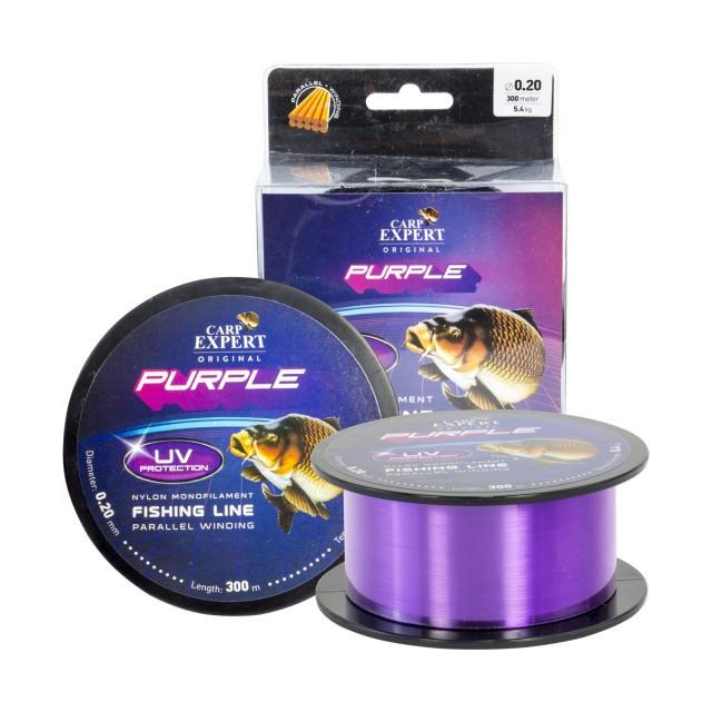 Fir Carp Expert UV Purple, 300m (Diametru fir: 0.40 mm) Carp Expert Oferta pescar-expert
