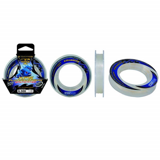 Fir Fluorocarbon T-Force SW 50m Trabucco (Diametru fir: 0.20 mm) Trabucco Oferta pescar-expert