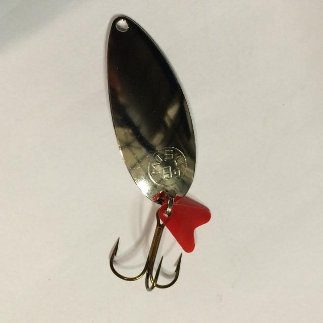 Lingurita oscilanta Misu nichelata Eira (Greutate lingurita: 6g) Misu Oferta pescar-expert