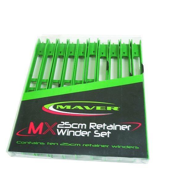 Set scarita MX Retainer Winders 25cm 10buc/set Maver