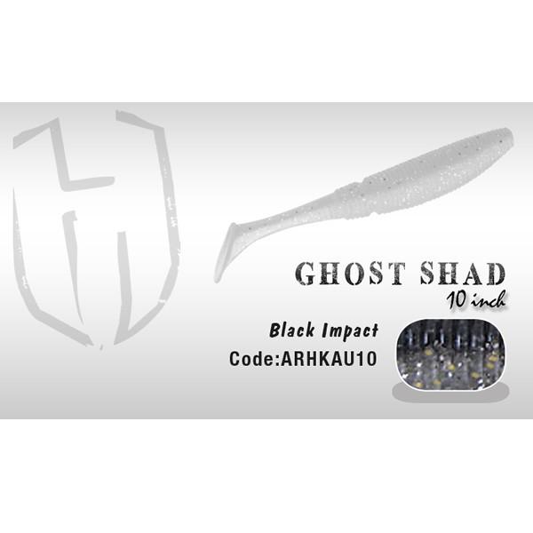 Shad Ghost 10cm Black Impact Herakles Herakles Oferta pescar-expert