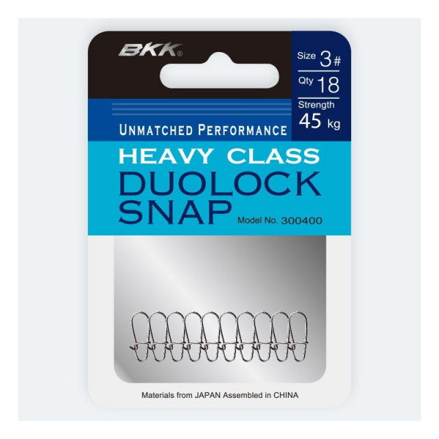 Agrafa BKK Duolock Snap-51, 12buc (Marime: 1) BKK Oferta pescar-expert