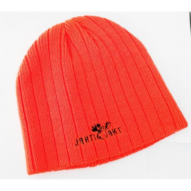 Fes orange tricotat, marca Jahti Jakt