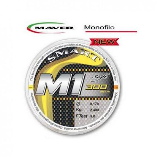 Fir monofilament 300m M1 Maver (Diametru fir: 0.15 mm) Maver Oferta pescar-expert