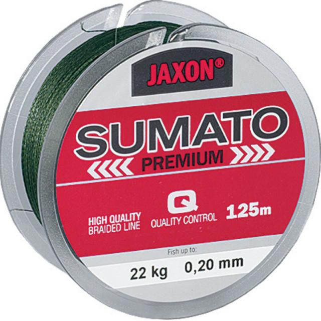 Fir textil Jaxon Sumato Premium, verde, 10m (Diametru fir: 0.18 mm) Jaxon Oferta pescar-expert