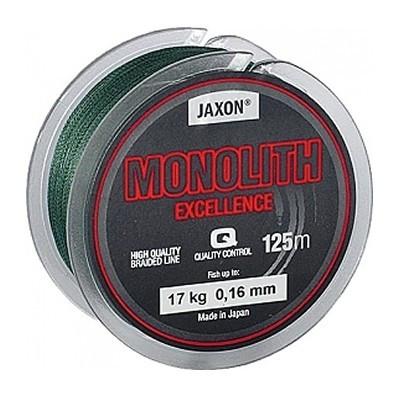 Fir textil Monolith Excellence dark green 125m Jaxon (Diametru fir: 0.16 mm, Culoare fir: verde) Jaxon Oferta pescar-expert