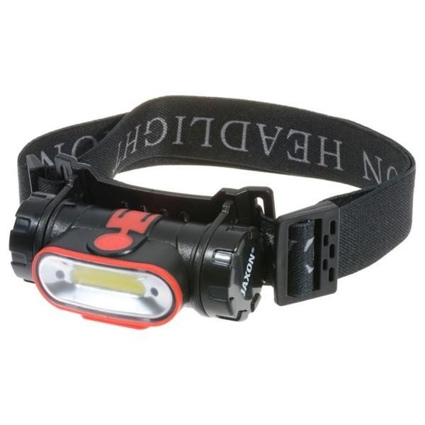 Lanterna Cap Sensor cu Acumulator, 300 Lumeni Jaxon