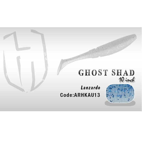 Shad Ghost 10cm Lanzardo Herakles Herakles Oferta pescar-expert