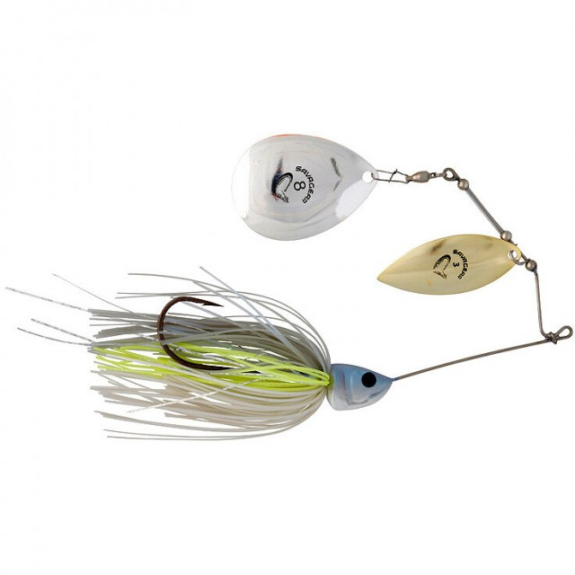 Spinnerbait Savage Gear Da Bush White Silver, 32g Savage Gear Oferta pescar-expert