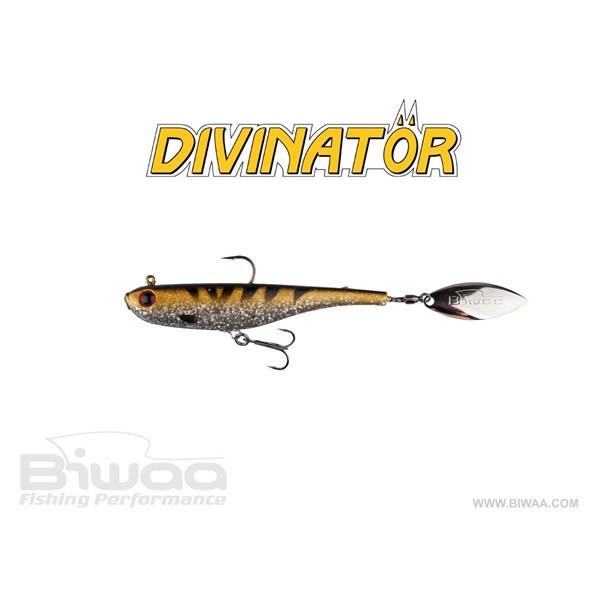 Spinnertail Divinator Medium Silver Zander 18cm / 35g / 1buc / plic Biwaa Biwaa Oferta pescar-expert