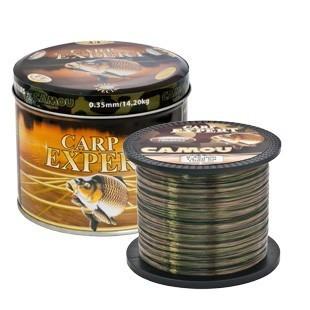 Fir crap camou cutie metalica 1000m Carp Expert (Diametru fir: 0.25 mm, Culoare fir: camou) Carp Expert Oferta pescar-expert