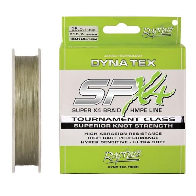 Fir Dyna-Tex SPX4 Moss Green 135m Rapture (Diametru fir: 0.12 mm) Rapture Oferta pescar-expert