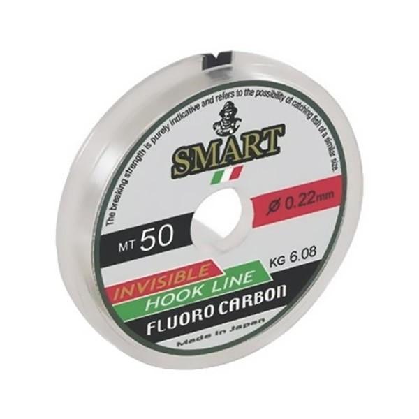 Fir Fluorocarbon Smart, 50m Maver (Diametru fir: 0.22 mm) Maver Oferta pescar-expert