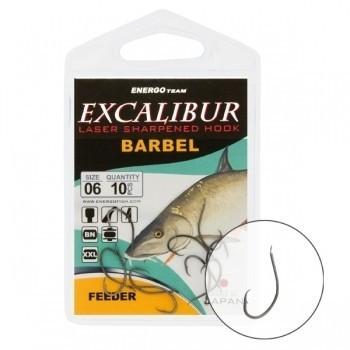 Carlige Excalibur Barbel Feeder NS diverse marimi (Marime: 14) EnergoTeam Oferta pescar-expert