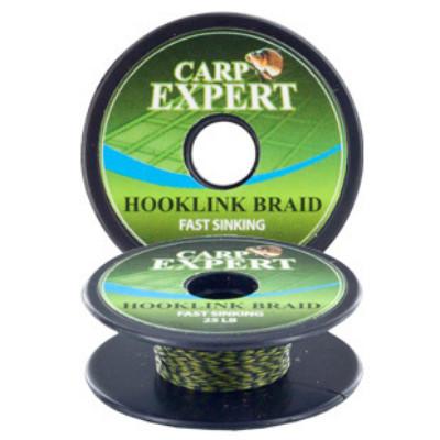 Fir Carp Expert Fast Sinking Camou Green, 10m (Rezistenta fir: 25lbs) Carp Expert Oferta pescar-expert