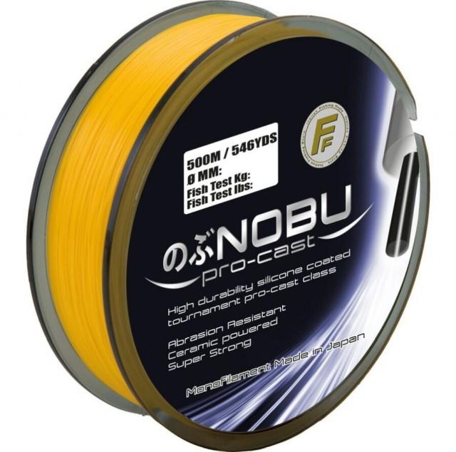 Fir monofilament Lineaeffe Nobu Pro-Cast Portocaliu, 250m (Diametru fir: 0.30 mm) Lineaeffe Oferta pescar-expert