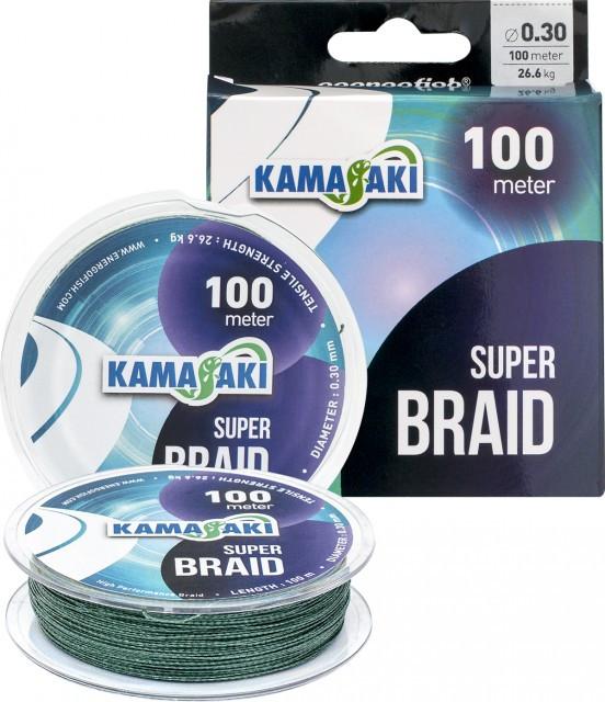 Fir textil Kamasaki Super Braid 100m (Diametru fir: 0.20 mm) KAMASAKI Oferta pescar-expert