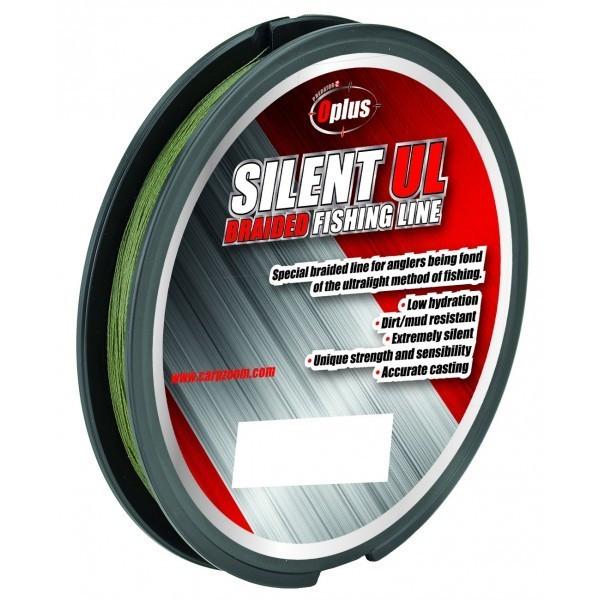 Fir textil verde Predator Z Silent UL 100m Carp Zoom (Diametru fir: 0.04 mm) Carp Zoom Oferta pescar-expert