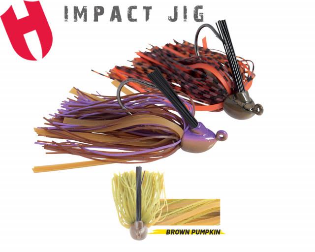 Jig Herakles Impact Jig, Brown/Pumpkin, 10.5g Herakles Oferta pescar-expert