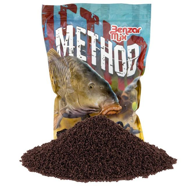 Pelete Benzar Mix Method Pellet, 2mm, 800g (Aroma: Usturoi) Benzar Oferta pescar-expert