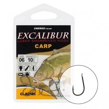 Carlige Excalibur Carp Classic NS (Marime: 4) EnergoTeam Oferta pescar-expert