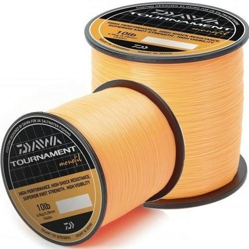 Fir Daiwa Tournament Fluo Orange (Diametru fir: 0.35 mm) Daiwa Oferta pescar-expert