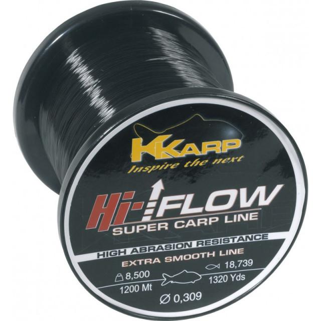 Fir monofilament K-Karp Hi-Flow, rola 1200 m (Diametru fir: 0.354 mm) K-Karp Oferta pescar-expert