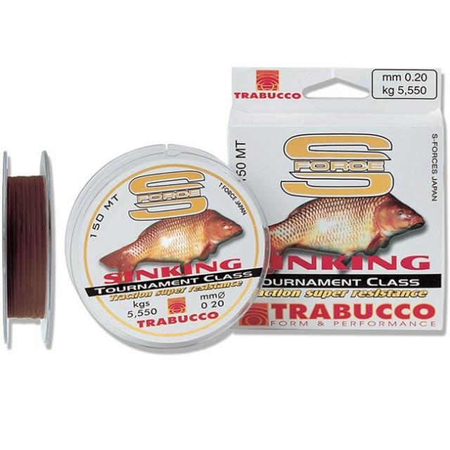 Fir Monofilament S-Force Sinking 150m Trabucco (Diametru fir: 0.22 mm) Trabucco Oferta pescar-expert