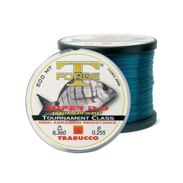 Fir monofilament Trabucco T-Force Tournament Super ISO, 500m (Diametru fir: 0.25 mm) Trabucco Oferta pescar-expert