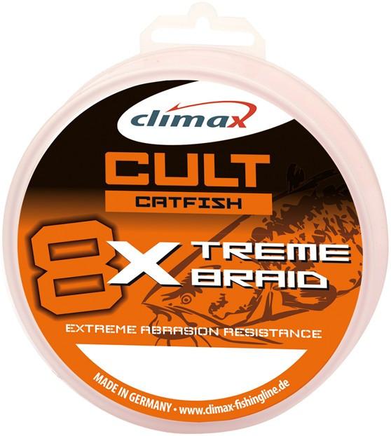 Fir textil Climax Cult Catfish X-Treme, gri, 1000m (Diametru fir: 0.50 mm) Climax Oferta pescar-expert