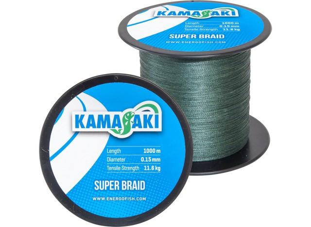 Fir textil Kamasaki Super Braid 1000m (Diametru fir: 0.20 mm) KAMASAKI Oferta pescar-expert
