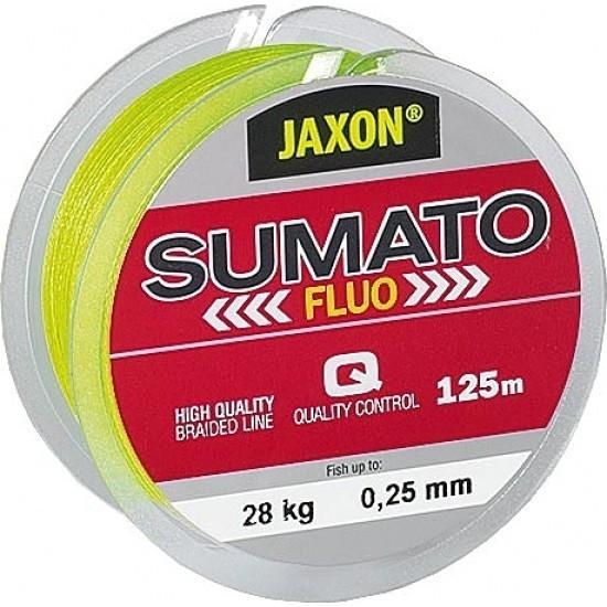Fir textil Sumato Fluo 125m Jaxon (Diametru fir: 0.22 mm) Jaxon Oferta pescar-expert