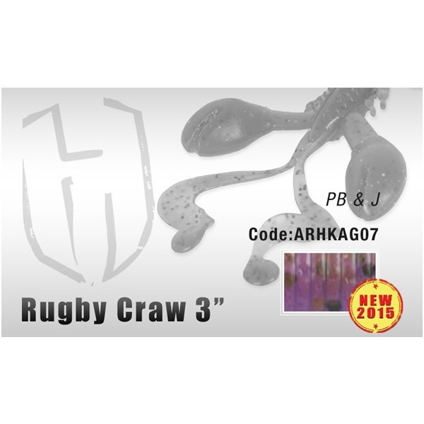 "Grub Rugby Craw 3"" 7.6cm PB & J Herakles Herakles Oferta pescar-expert"