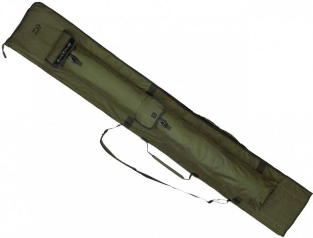 Husa Daiwa Black Widow Holdall, 3 lansete echipate, 200cm Daiwa Oferta pescar-expert