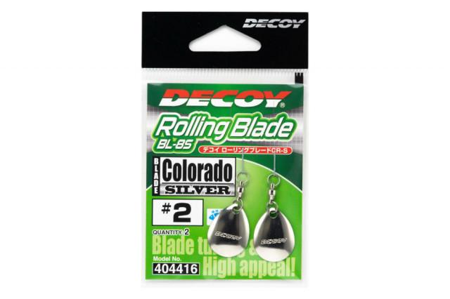 Paleta Cu Vartej Decoy Bl-8 S Colorado Silver (Marime: 3) Decoy Oferta pescar-expert