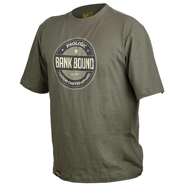 Tricou bumbac Bank Bound Badge Prologic