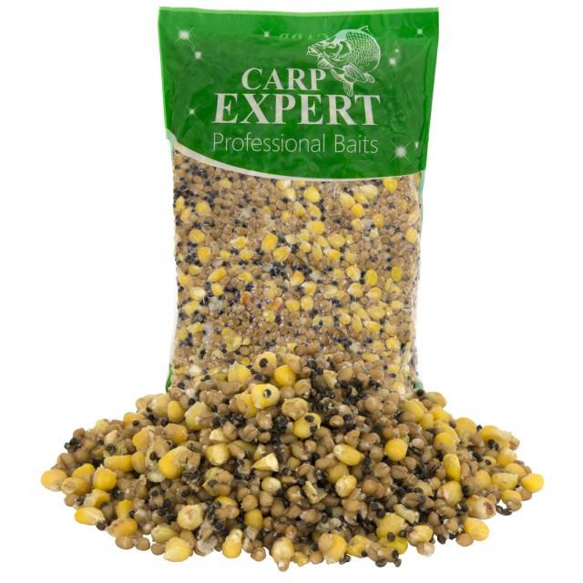 Amestec seminte Mix 60 de Zile Natur 1kg Carp Expert (Aroma: Natur) Carp Expert Oferta pescar-expert
